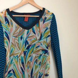 Missoni for Target Sweater Blouse Colorful size Sm